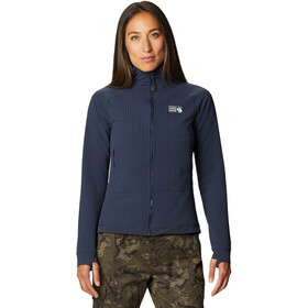Mountain Hardwear Keele Ascent Hoody Dames, dark zinc